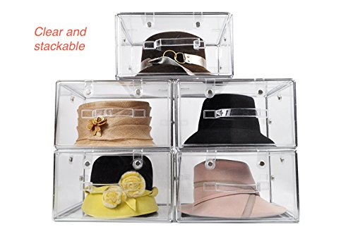 Superior Invisibox The Clear Collapsable Storage Solution For Hat Boxes, Shoe Boxes  And Transparent Soft Plastic Boxes For ...