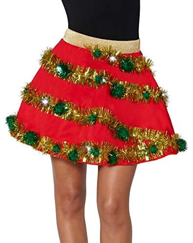 (Spencer Gifts Light-Up Christmas Skirt - S/M)