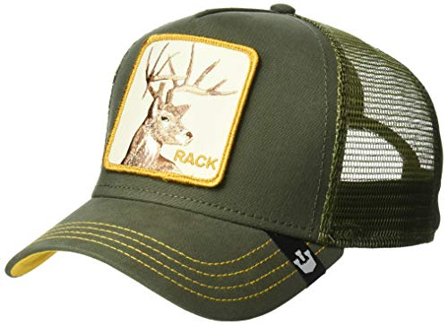 Goorin Bros. Men's Animal Farm Trucker Hat, Green Deer, One Size