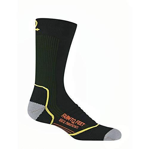 - Farm to Feet Damascus Midweight Crew Socks, Green Gables, Large
