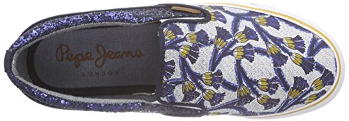Pepe Jeans Alford Africa - Zapatillas Mujer Azul - Blau (580SAILOR)