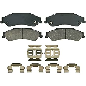 Disc Brake Pad Set-ThermoQuiet Disc Brake Pad Rear Wagner QC729