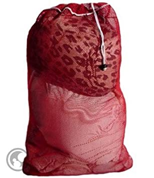 Amazon.com: Malla Bolsa para colada con cordón: Home & Kitchen