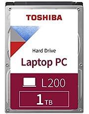 """Toshiba L200 SATA, 5400rpm, 128MB Buffer, 2.5"""" Form Factor Laptop PC Internal Hard Drive, 1TB, HDWL110UZSVA - Local Unit"""