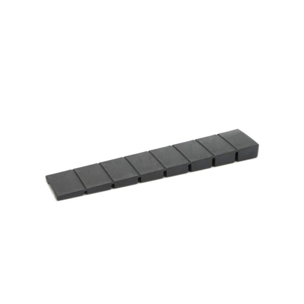25 x M/öbelkeile//Unterlegkeile Schwarz Ausgleichskeile aus Kunststoff mit integrierten Soll-Bruchstellen Farbe Sossai MKB-100