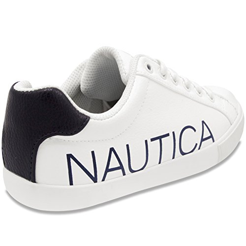 Casual Up Fashion Steam Lace on Sneaker Nautica Shoes Slip Women FBOqInp