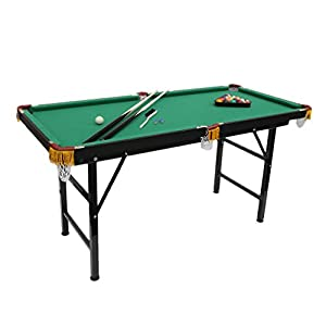 Superbe Mini Foldable Pool Table Portable Billiard Table With Cues Balls