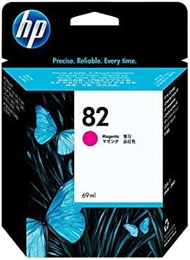 HP C4912A 82 Cartucho de Tinta Original, 1 unidad, magenta: Hp: Amazon.es: Oficina y papelería