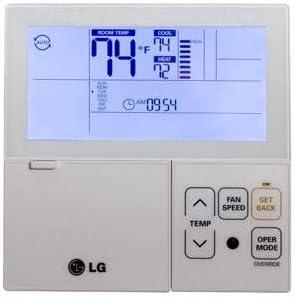 LG premtb10u termostato programable (7 días, (con cable, color blanco: Amazon.es: Bricolaje y herramientas