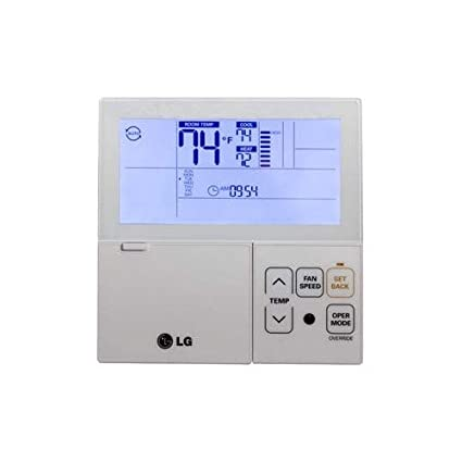 LG PREMTB10U Thermostat, Multi-V Wired 7-Day Programmable