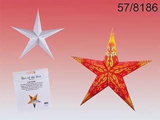 Stella di carta lampada ornamento a sé fai da te