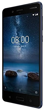 Nokia 8 Plus Smartphone, 128 GB, Blu Lucido, Sistema Operativo Android [Italia]