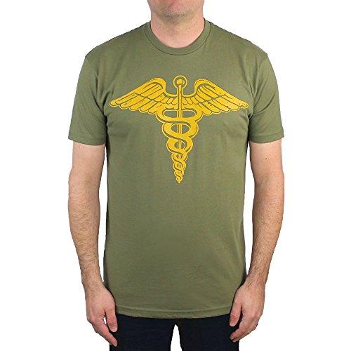 Cult Classic Shirts Caduceus T-Shirt (Large)]()