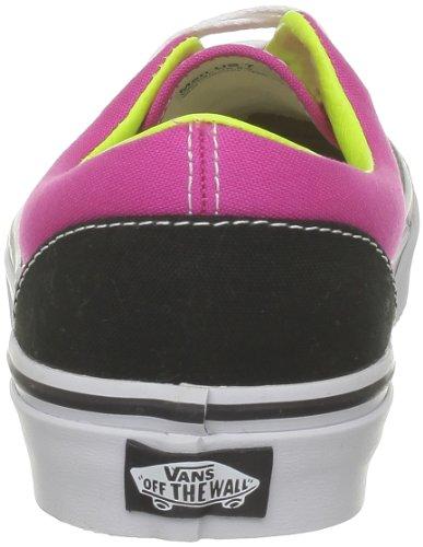Zapatillas Skateboarding Rosa Black Vans de Tone 2 Lime Era Mag Negro Hombre Onqxa5A7