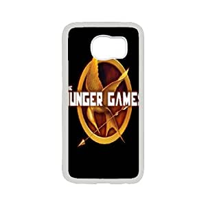 Hot Movie The Hunger Games Pattern Productive Back Phone Case For Samsung Galaxy S6 -Style-11