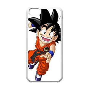 iPhone 5c Cell Phone Case Covers White Goku SA9682991