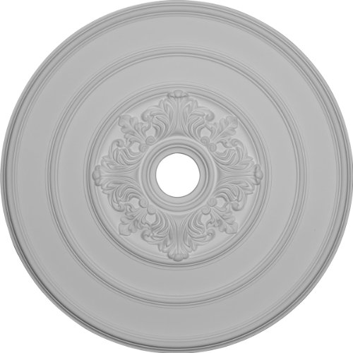 Ekena Millwork CM26TA 26-Inch OD x 3 1/8-Inch ID Traditional with Acanthus Leaves Ceiling Medallion - Acanthus Leaf