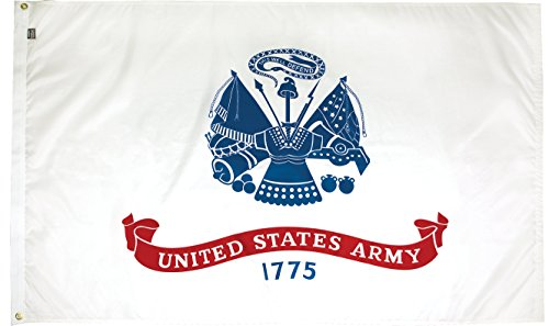 FlagSource - U.S. Army 3x5' Nylon Military Flag - Proudly Ma