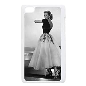 iPod Touch 4 Case White Grace Kelly 005 PQN6053055324717