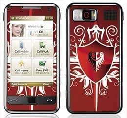 Red Shield Skin for Samsung Omnia i900 and i910 Phone