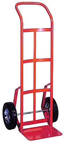 Wesco-210385-Series-156-Hand-Truck-Solid-Rubber-Wheel-800-lb-Load-Capacity-22-12-Width-x-48-Height-x-18-12-Depth