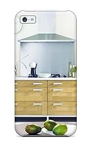 AHcmLDO269tOKxp Case Cover, Fashionable Iphone 5c Case - Wooden Kitchen