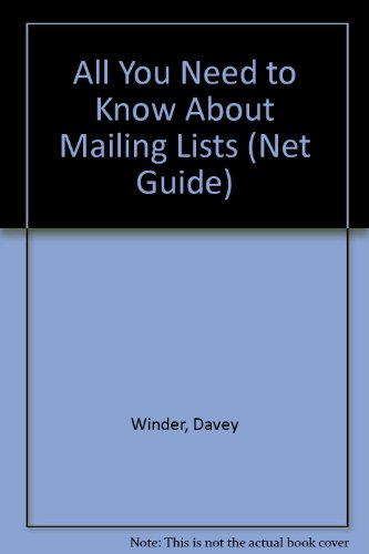 """All You Need to Know About Mailing Lists ("""".net"""" Guide)"""