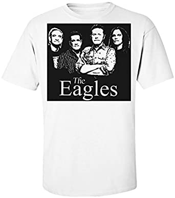 6ca1a4fc The Eagles Band Men's T-Shirt: Amazon.co.uk: Clothing