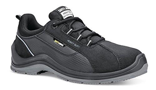 Shoes For Crews 71056 - 37/4 Advance81 Chaussures De Sécurité Unisexes Avec Embout En Acier, 4 Uk, Noir