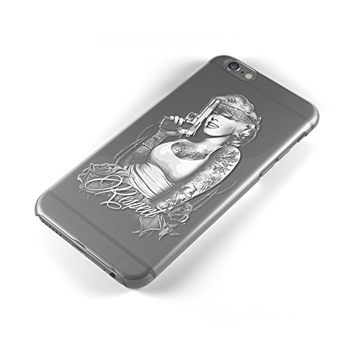 Marilyn Monroe Gangster UV Printed Clear Case For iPhone Samsung Tpu Protection iPhone 7 (Gangster Christmas Sweaters)