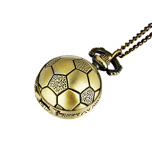 Football Pocket Watch,Ball Shape Small Quartz Pocket Watch