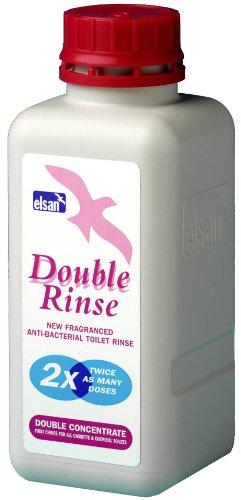(Elsan Double Rinse Toilet Fluid, 400 ml)