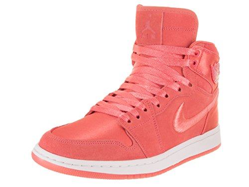 Jordan Women's WMNS Air 1 Ret High Soh Fitness Shoes Multicolour (Sunblush/White-metal 640) lOBDfs7r