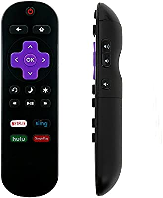 NS-RCRUS-17 Replace Remote for Insignia Roku TV NS-24ER310NA17  NS-65DR620NA18 NS-48DR510NA17 NS24ER310NA17 NS-32DR310NA17 NS-43DR710NA17