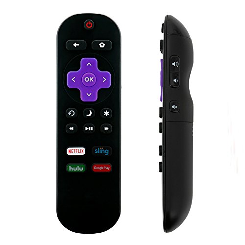 Great Deal! NS-RCRUS-17 Replace Remote for Insignia Roku TV NS-24ER310NA17 NS-65DR620NA18 NS-48DR510...