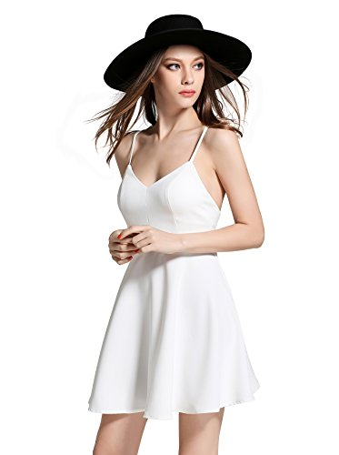 Women's Sleeveless Victoria's Secret Swing Padded Cups Cocktail Party Dress