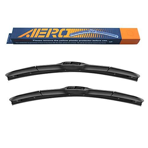 "AERO Hybrid 22"" + 22"" OEM Quality All-Season Windshield Wiper Blades (Set of 2)"