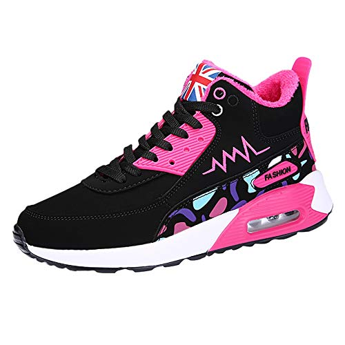 (Clearance for Shoes,AIMTOPPY Women's High-Top Cotton Shoes Students with Cushioned Sneakers)