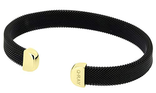 QRay Midnight Series Black and Goldtone Bracelet SIZE for sale  Delivered anywhere in USA