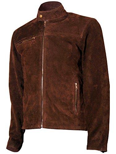 Genuine Suede Leather Mens Jacket - 9