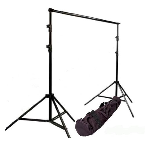 CowboyStudio Photography 10 ft Heavy Duty Crossbar Studio Portable Background Support System and Carry Case