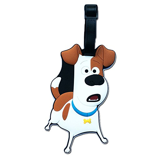 - Secret Life of Pets PVC Embossed Luggage Bag Backpack Baggage Purse Travel Name Id Tag (Standard, Max)