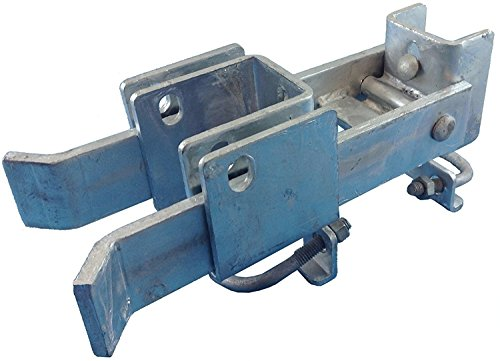 (Chain Link Fence Commercial Strong Arm Double Gate Latch for 1-5/8