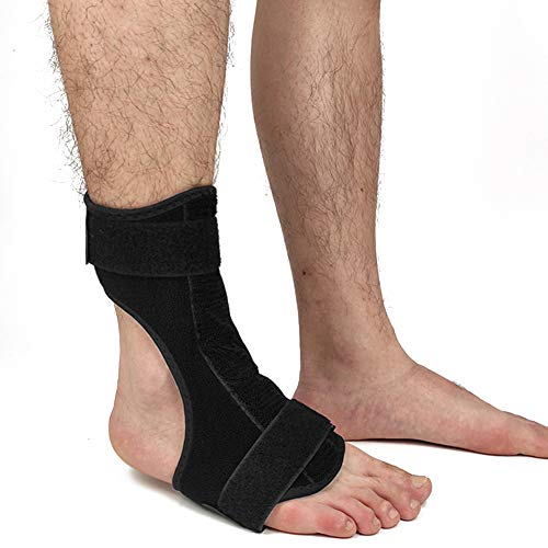 SPOTBRACE Compression Plantar Fasciitis Night Splint Drop Foot Brace Dorsal Planter Fasciitis Night Splint Night Splints Support for Right or Left Foot Sleep, Recovery, Tendonitis, Arthritis