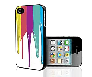 Paint Dripping Hard Snap on Case (iPhone 6 4.7)