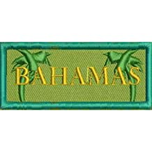 New Bahamas Sew on Patch Embroidered Iron on Patch Tropical Vacation Applique