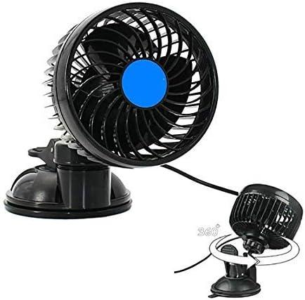 Fsan 12V Ventilador para automóvil Ventosa 4.5 Ventilador ...