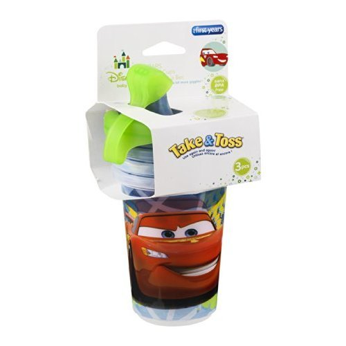 Price comparison product image First Years Y9294 10 Oz Cars Take & Toss Sippy Cup