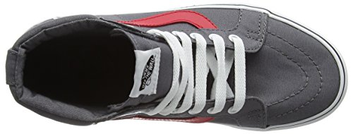 Adulte Mixte Tornado Red Hi Baskets Basses Canvas Racing Vans Sk8 Gris 1Bq6TT