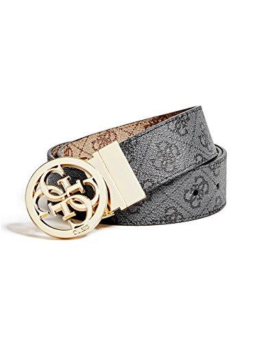 Guess Buckle Closure Belt - GUESS Women's Reversible Quattro G Signature Belt